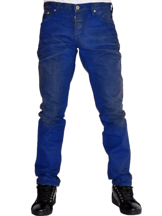 Just Cavalli Button Fly Slim Fit Jeans