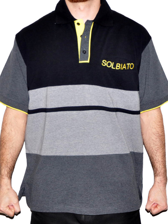 Solbiato Cotton-Lycra Polo Shirt
