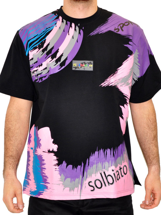 Solbiato Cotton-Lycra Tee Shirt