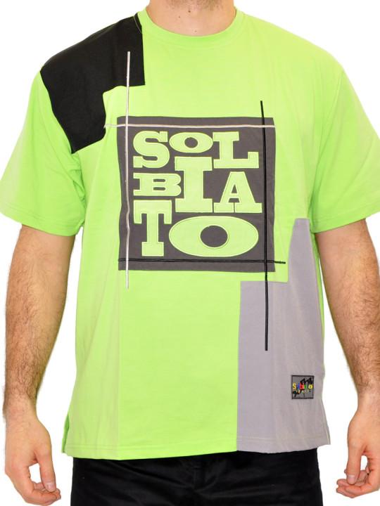 Solbiato Cotton-Lycra Tee Shirt