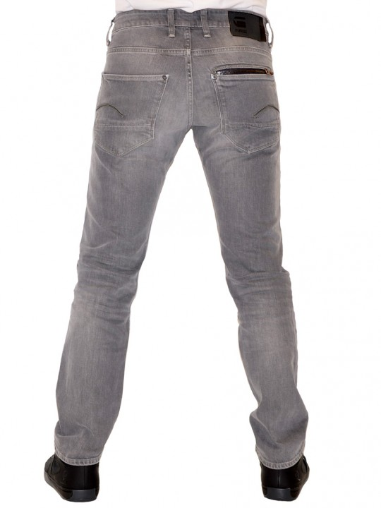 G-Star Button Fly Straight Leg Jeans