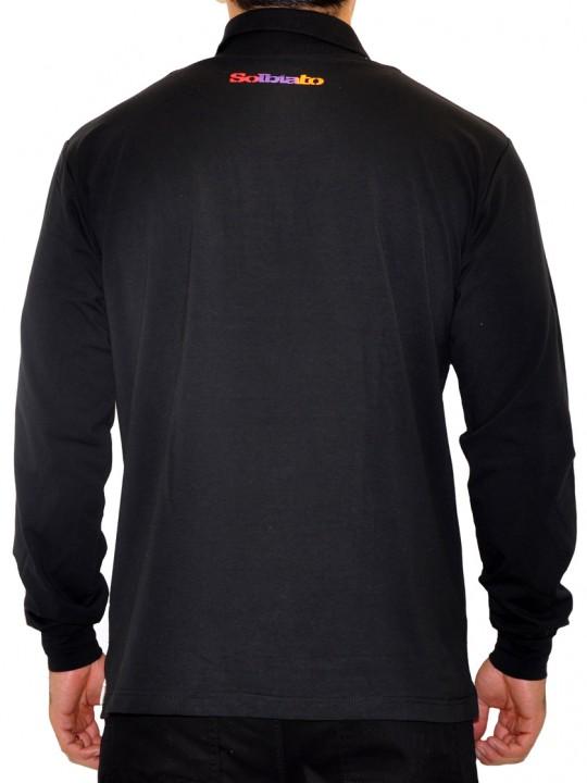 SL-Rusty - Solbiato Silver Label Cotton-Lycra Polo Shirt