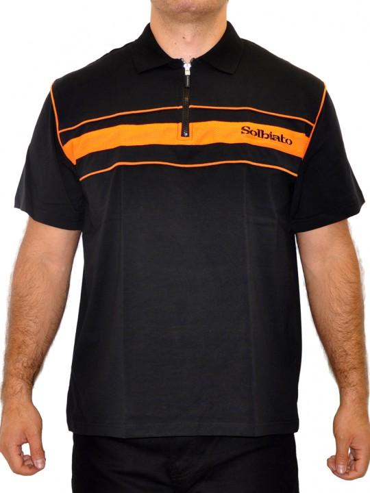 SL-Flix - Solbiato Silver Label Cotton-Lycra Polo Shirt