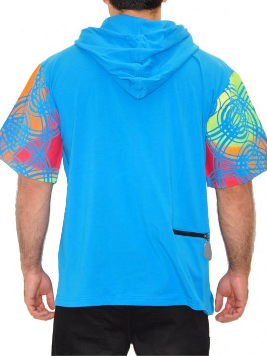 Tribal - Solbiato Short Sleeve Hoodie Tee