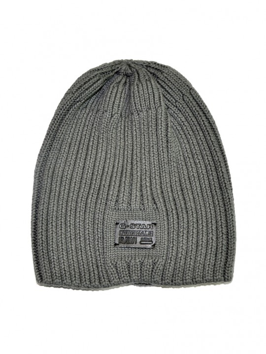 G-star-hat-mid-grey-front