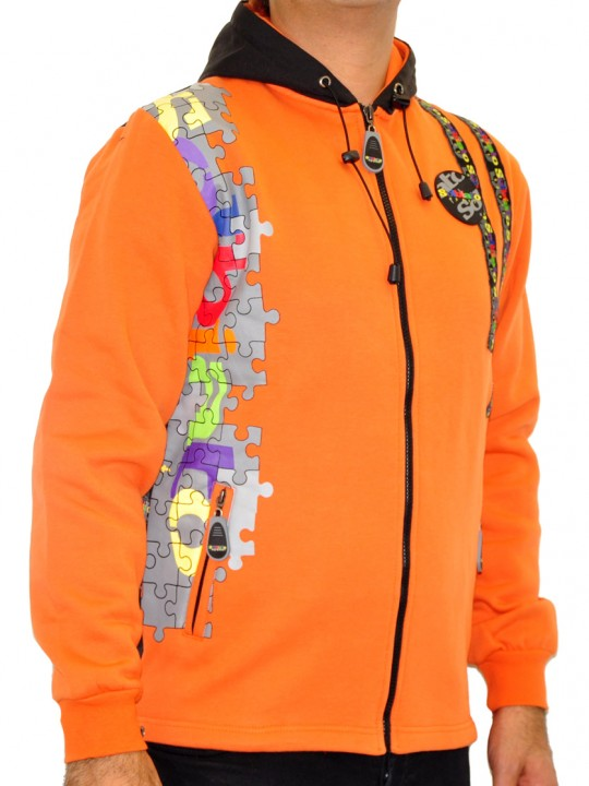 K-Puzzle - Solbiato French Terry Full Zip Hoodie