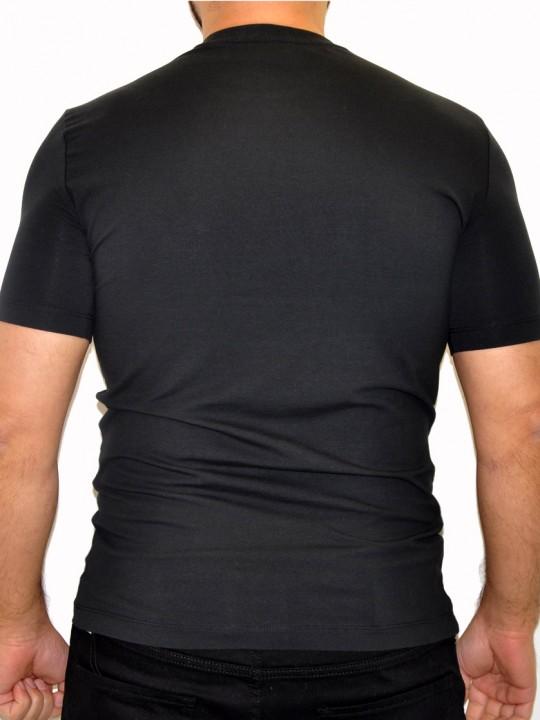 ARMANI-EA7-T-shirt-Black-Back