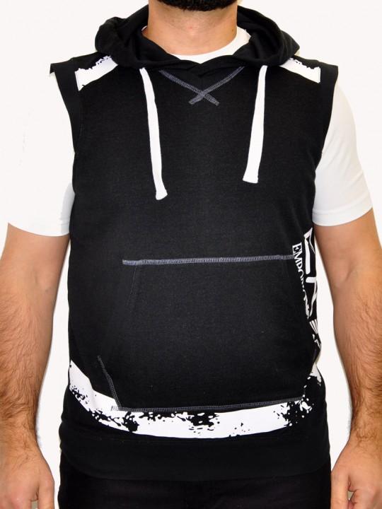 ARMANI-EA7-Vest-Black-Front