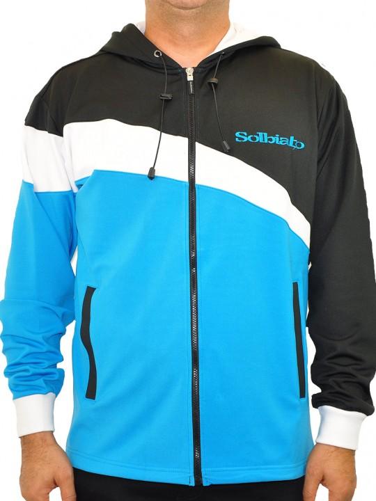 SL-Crox-polo-blue-front