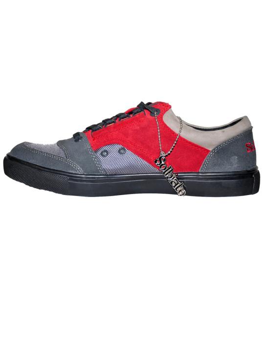 Solbiato Low-Top Suede & Mesh Shoe