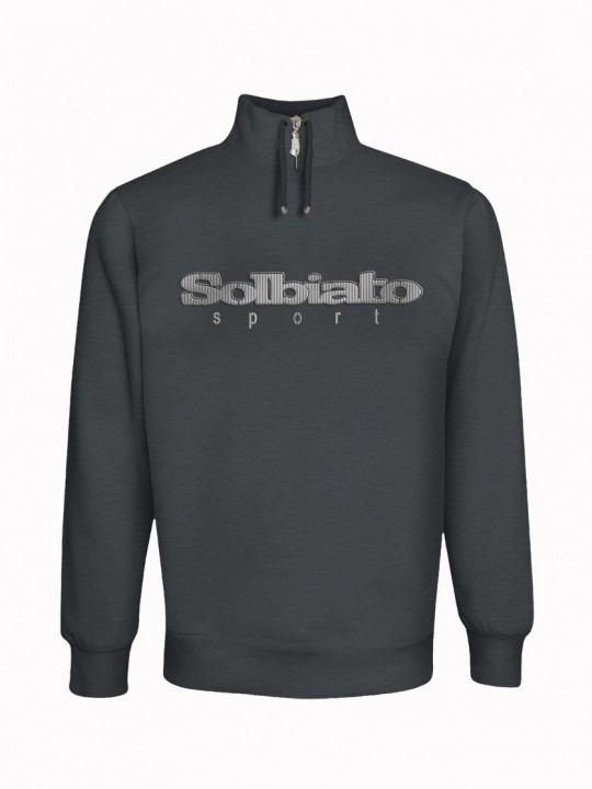 Solbiato_Sport_FW19_Top_CHARC_Rockey_Silver_Front