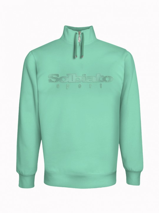 Solbiato_Sport_FW19_Top_Teal_Rockey_TonT_Front