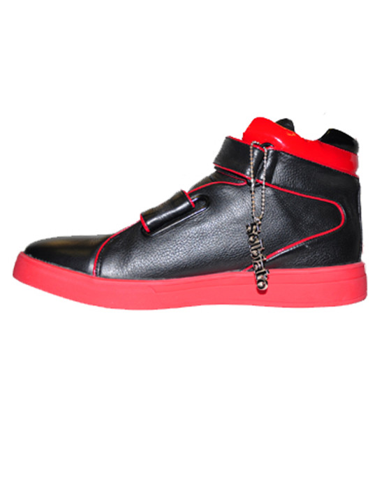 Solbiato High-Top Leather Shoe