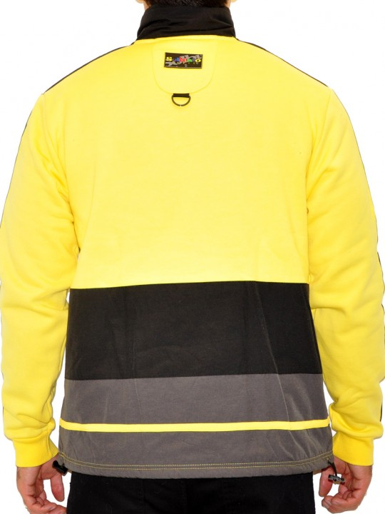 Caution Solbiato Fleece Half Zip Neck