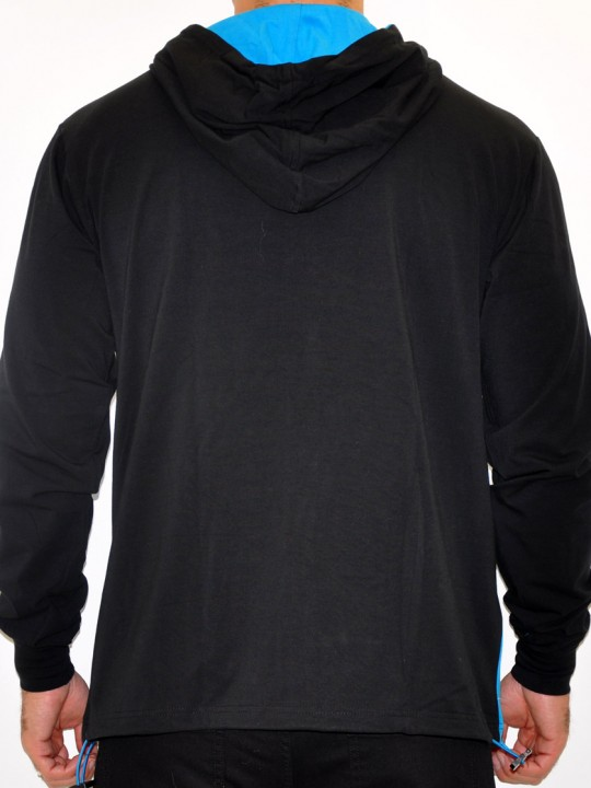 Derby - French Terry Hooded Cardigan Sweat Top