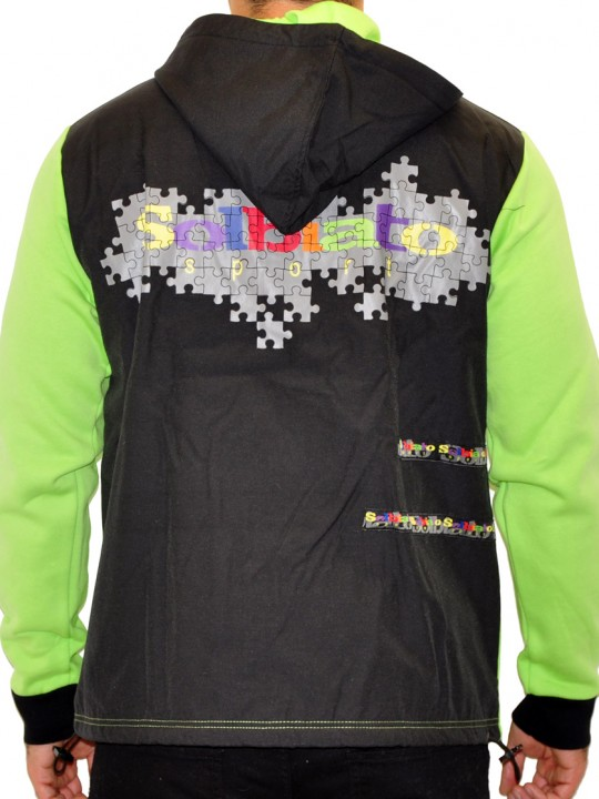 Puzzle - Fleece Full Zip Top