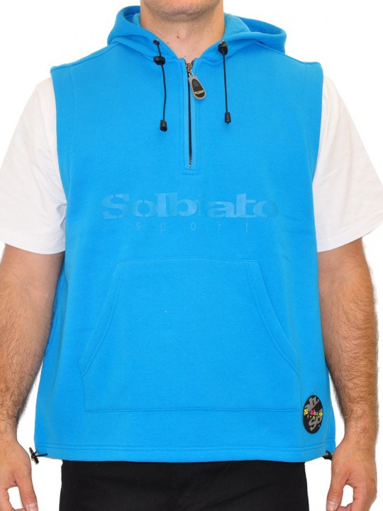 Style Solbiato Fleece Hooded Vest