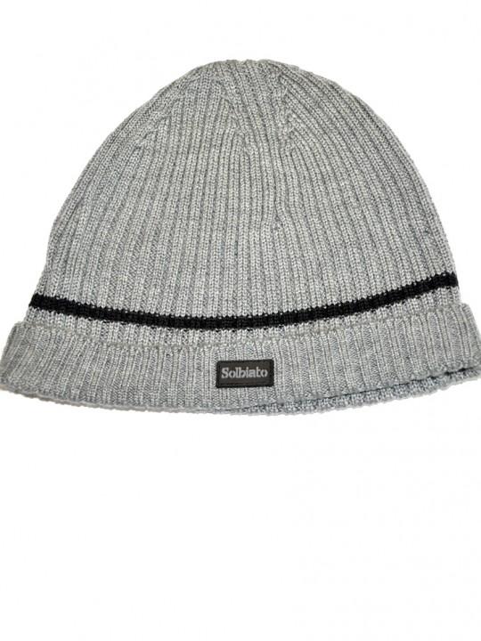 SL-Tip Solbiato Silver Wool Hat