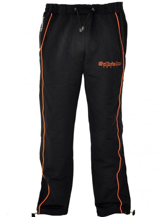 Mile_FT_Sweatpants_Orange_Front
