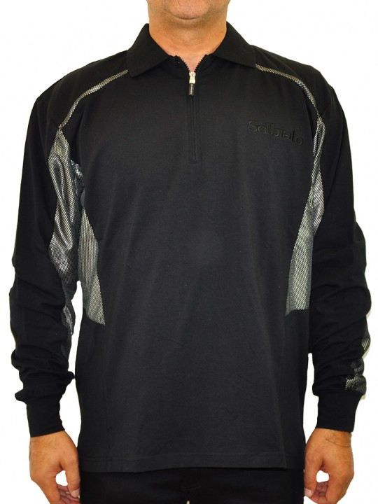SL-Bay-ls-polo-black-front