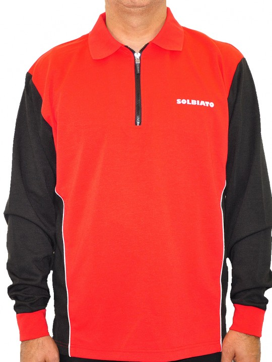 SL-Clipper-ls-polo-red-front