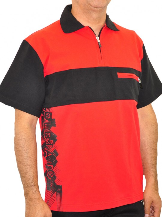 SL-Down-polo-red-front