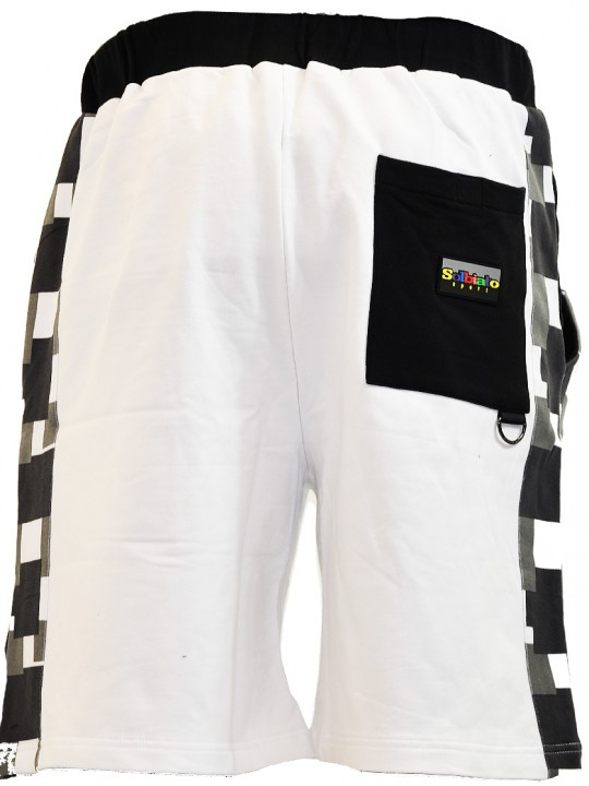 Combat-FT-shorts-white-back