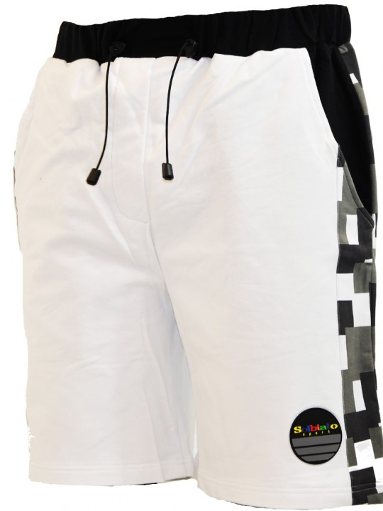 Combat-FT-shorts-white-front