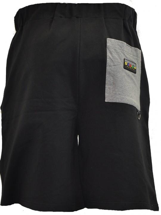 Fallen-FT-shorts-gray-back
