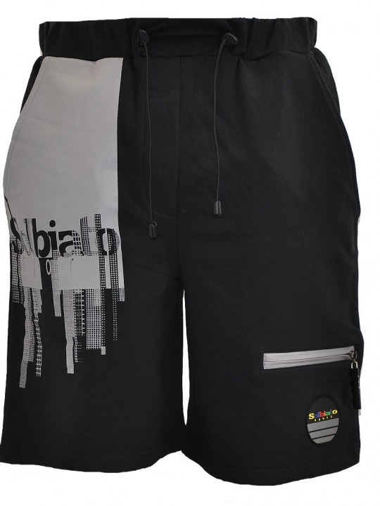 Fallen-FT-shorts-gray-front