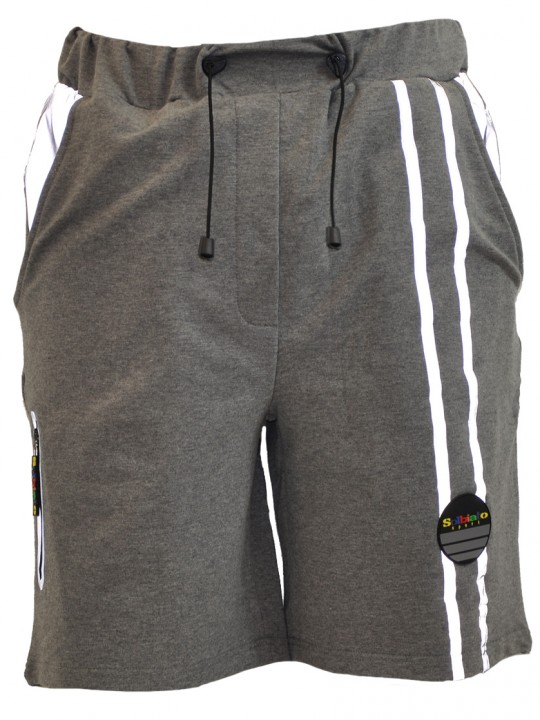Place-FT-shorts-gray-front