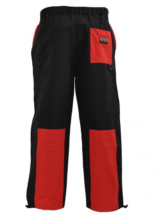 Tab-nylon-pants-red-back