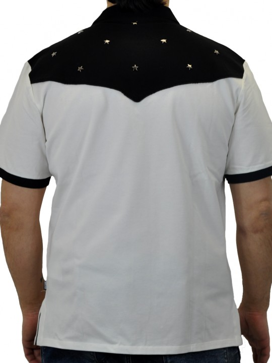 Just-Cavalli_Polo_Black&Whitel_BACK