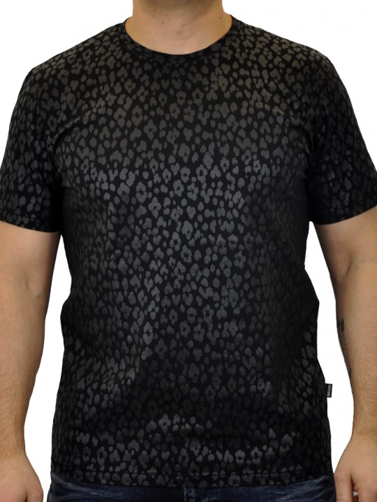 Just-Cavalli_Polo_SnakeSkin_BLK_FRONT