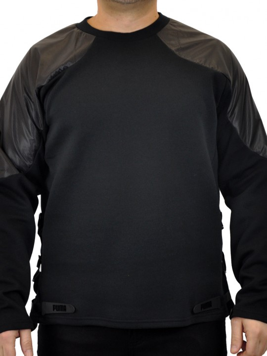 Puma_SWTTOP_NYLONSLEEVES_BLK_FRONT