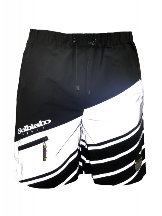 Solbiato_Sport_SS18_Shorts_DOLCE_BLK_FRONT