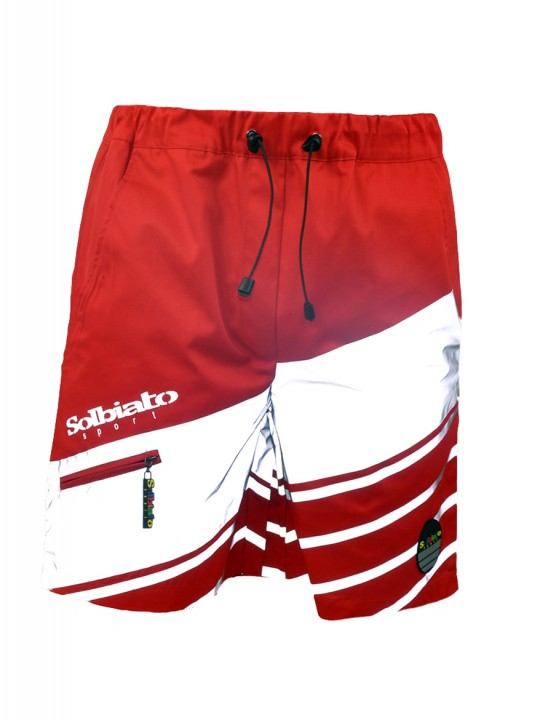 Solbiato_Sport_SS18_Shorts_DOLCE_RED_FRONT