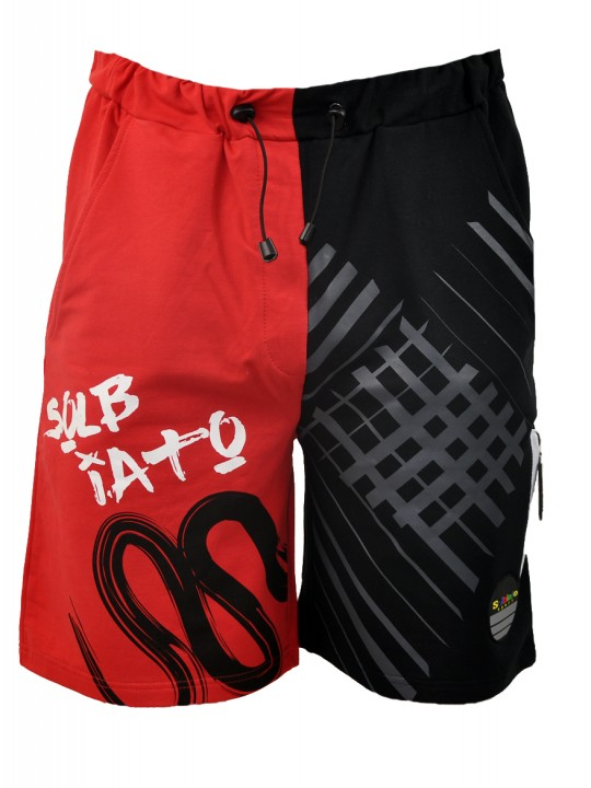 Solbiato_Sport_SS18_Shorts_DOMINO_RED_FRONT