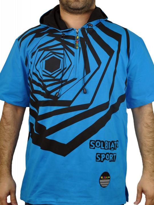 SOLBIATO_SPOR_SS18_SHORTSLEEVEHOODY_LENZ_BLUE_FRONT