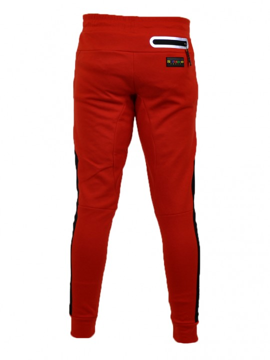 SOLBIATO_SPORT_FW18_JOGGERS_EIGHTH_RED_BACK
