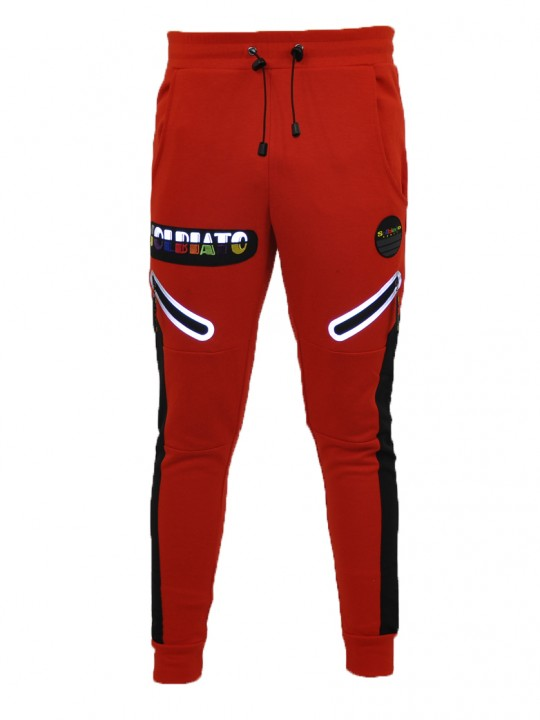 SOLBIATO_SPORT_FW18_JOGGERS_EIGHTH_RED_FRONT
