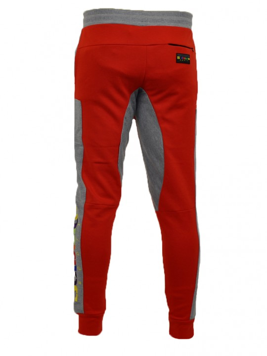 SOLBIATO_SPORT_FW18_JOGGERS_FADE_RED_BACK