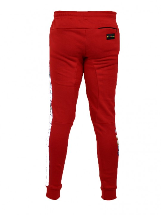 SOLBIATO_SPORT_FW18_JOGGERS_ON-TIME_RED_BACK