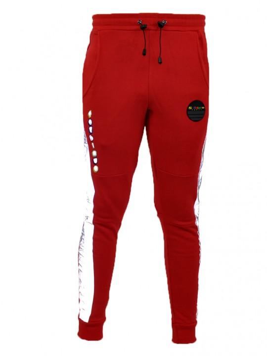 SOLBIATO_SPORT_FW18_JOGGERS_ON-TIME_RED_FRONT