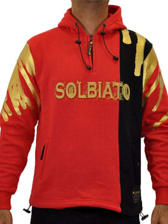 SOLBIATO_SPORT_FW18_TOPS_DRY_BLK_RED_FRONT