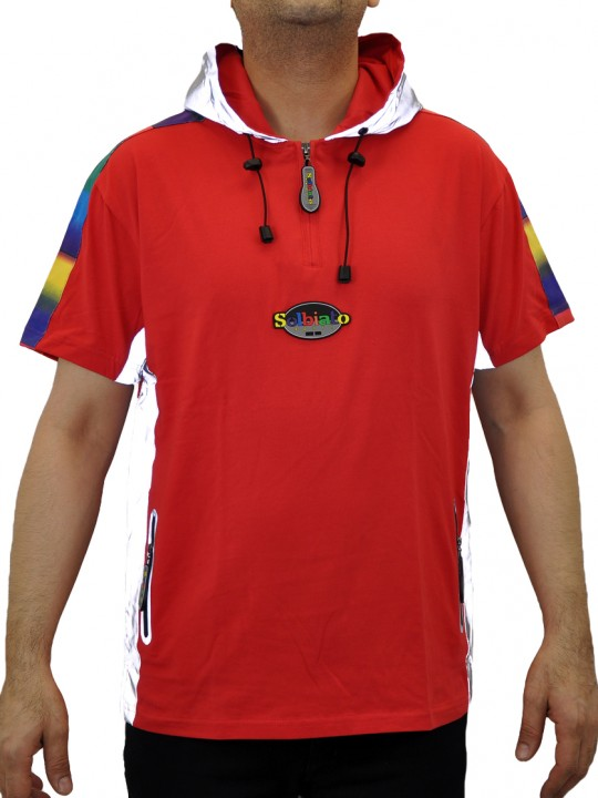 SOLBIATO_KIDS_SS18_HOODIE_AGAVE_RED_FRONT