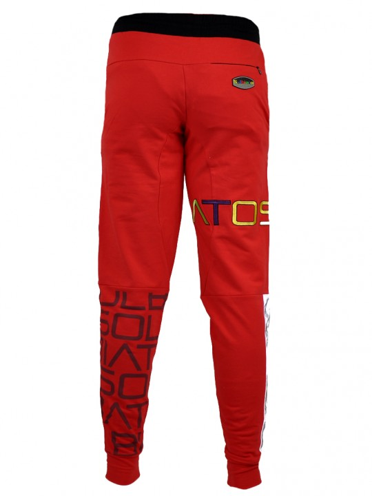 SOLBIATO_SPORT_SS19_BOTTOM_JOGGERS_DUE_RED_BACK