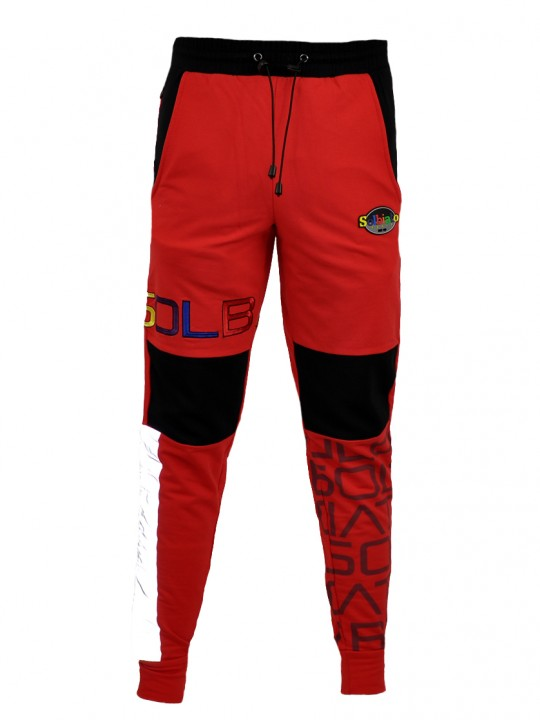 SOLBIATO_SPORT_SS19_BOTTOM_JOGGERS_DUE_RED_FRONT