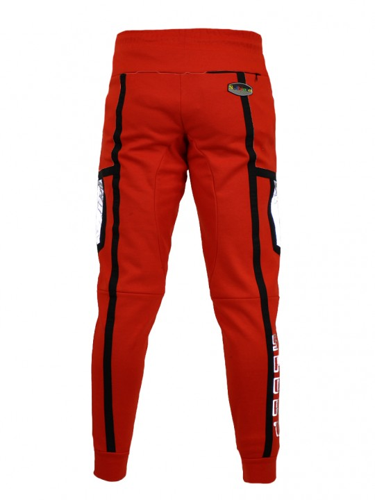 SOLBIATO_SPORT_SS19_BOTTOM_JOGGERS_PORTLAND_RED_BACK
