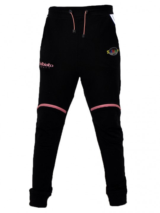 SOLBIATO_SPORT_SS19_JOGGERS_NEAT_PINK_FRONT